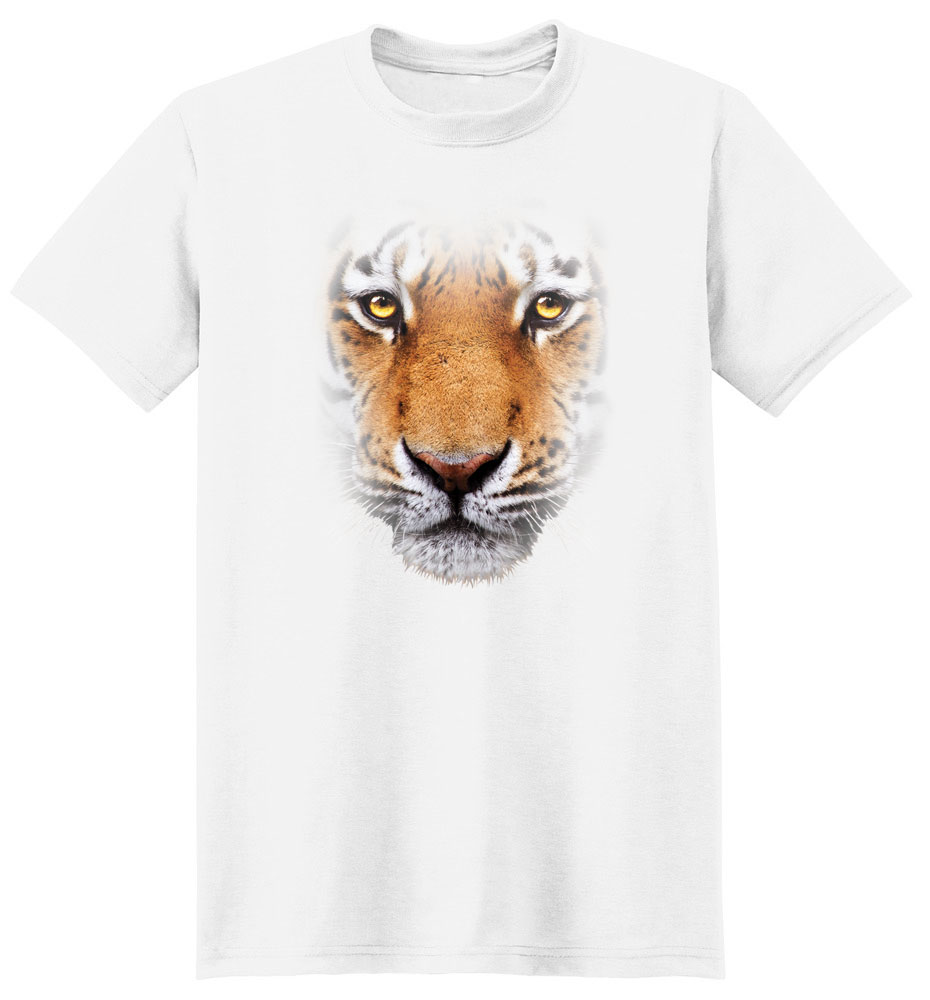 Tiger T Shirt Full Face