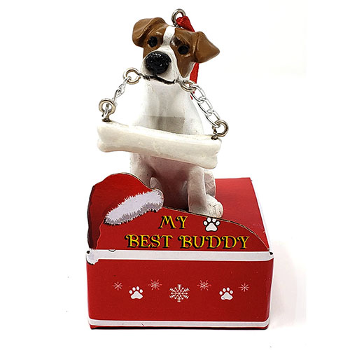 My Best Buddy Jack Russell Christmas Ornament