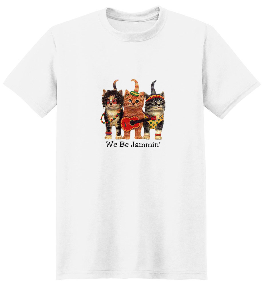 Cat T-Shirt - We Be Jammin