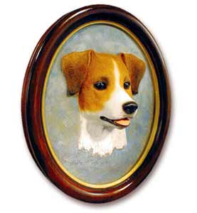 Jack Russell Terrier Sculptured Portrait
