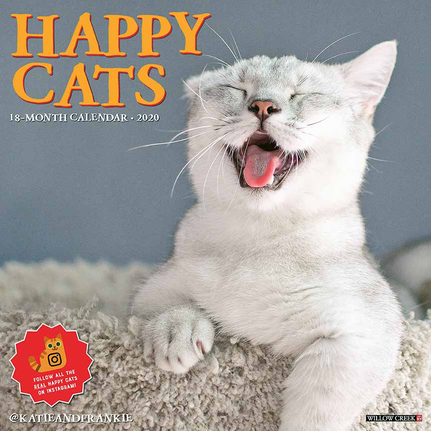 2020 Happy Cats Calendar