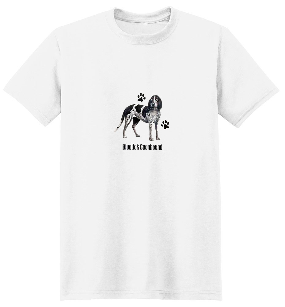 Bluetick Coonhound T-Shirt - Profiles