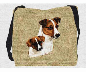 Jack Russell Terrier Tote Bag (Puppy)