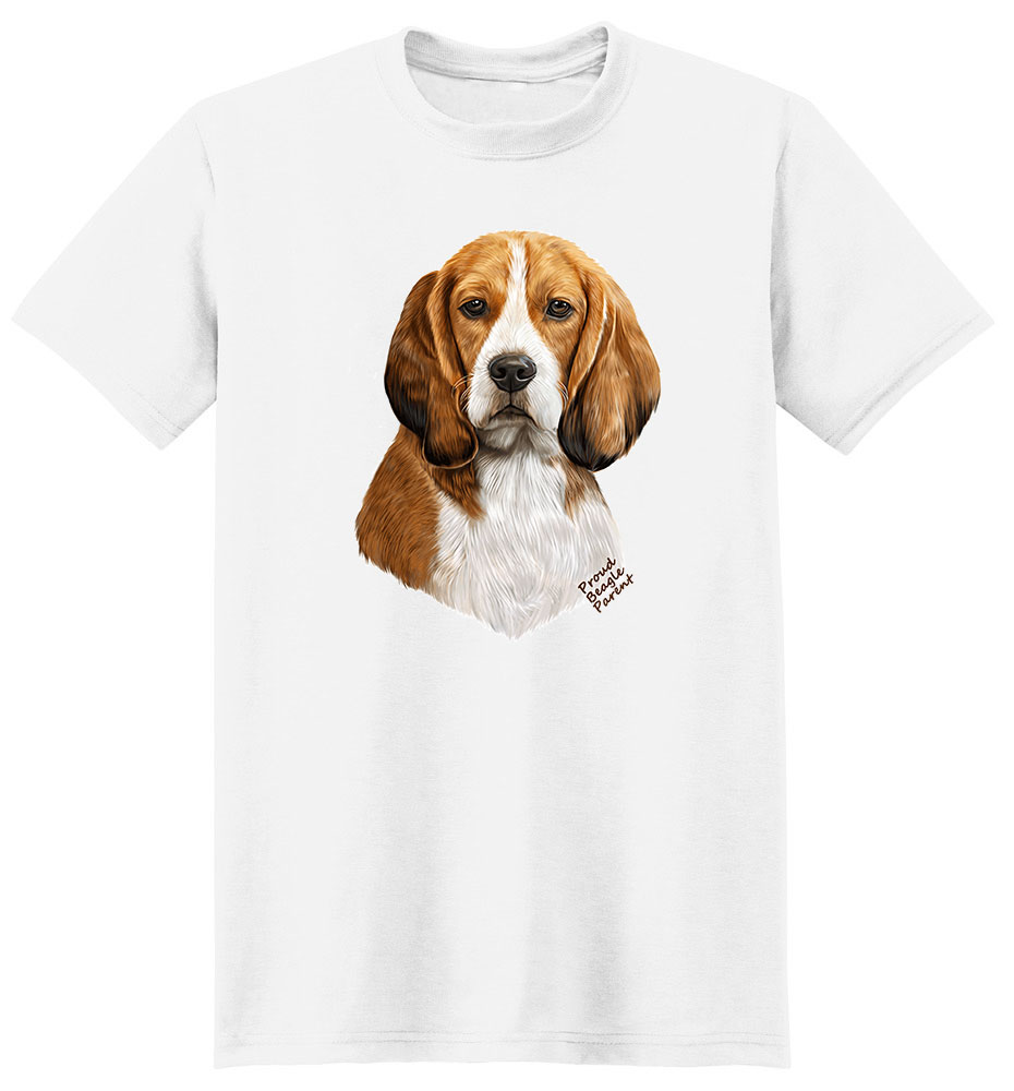 Beagle T Shirt - Proud Parent