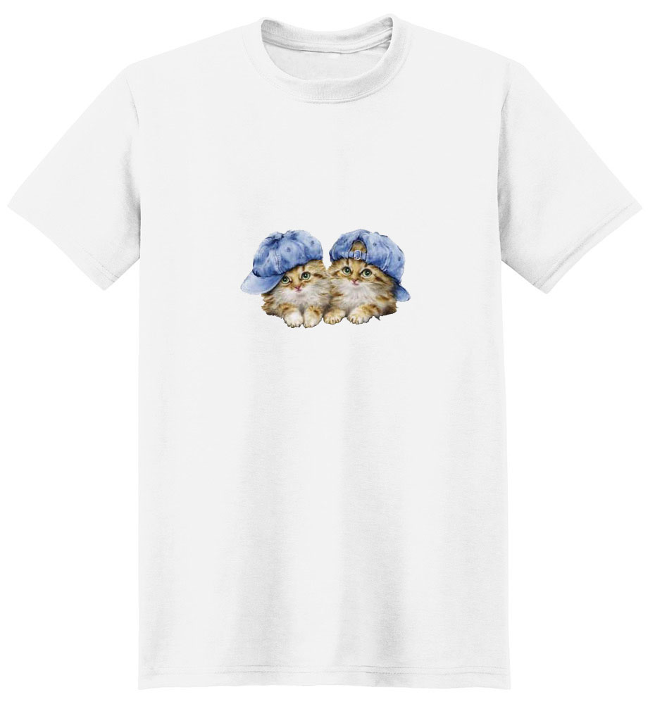 Cat T-Shirt - with Hats