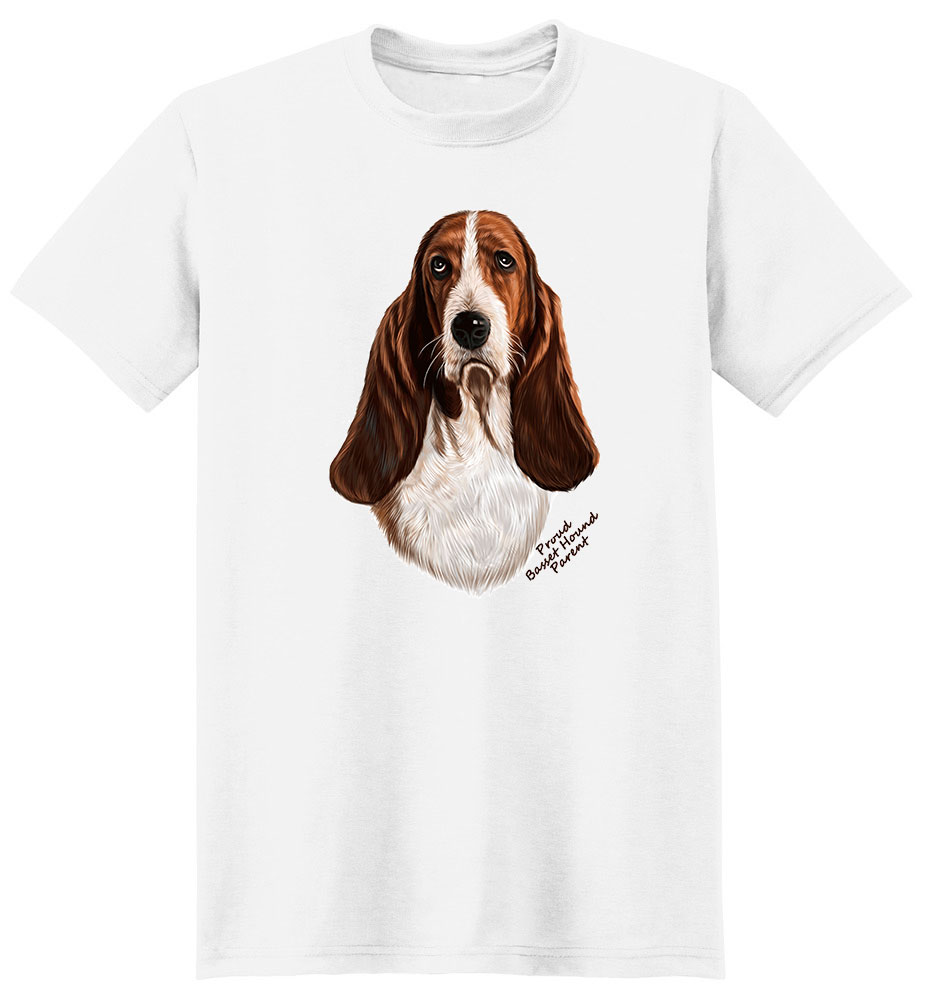 Basset Hound T Shirt - Proud Parent