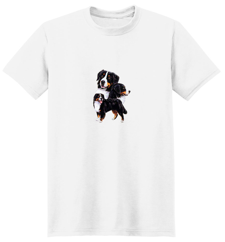 Bernese Mountain Dog T-Shirt - Best Friends