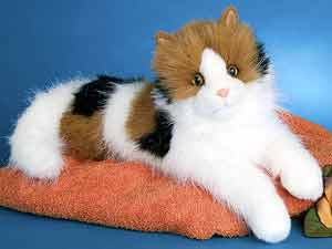 Calico Cat Plush