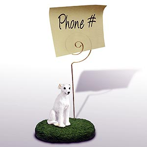 Whippet Note Holder (White)