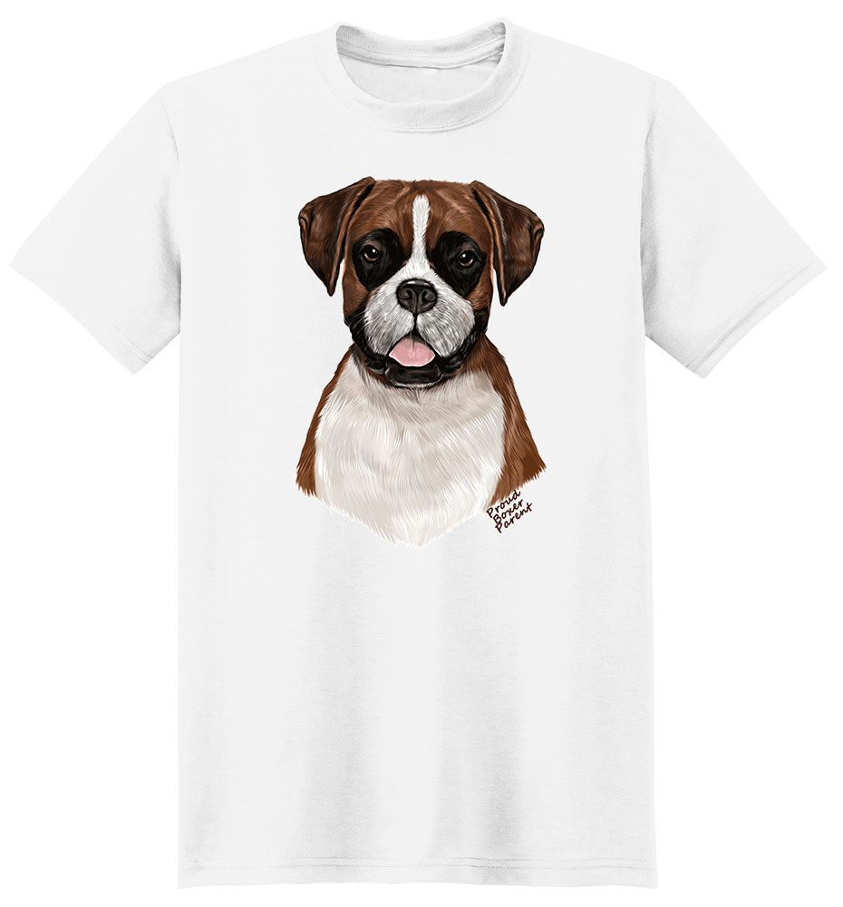 Boxer T Shirt - Proud Parent