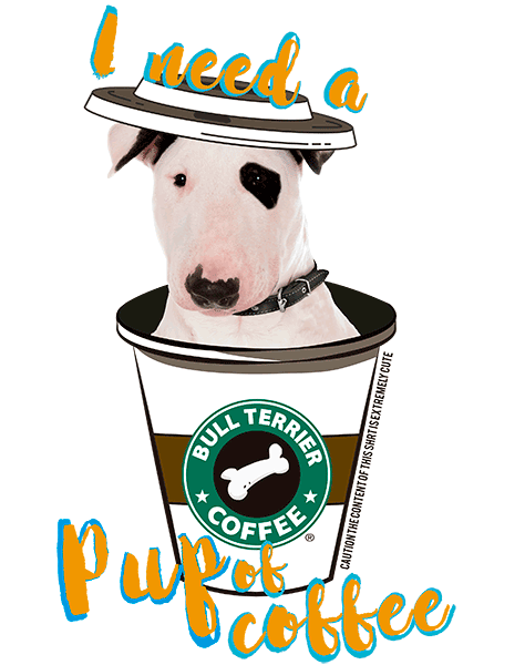 Bull Terrier T Shirt - Coffee Mug
