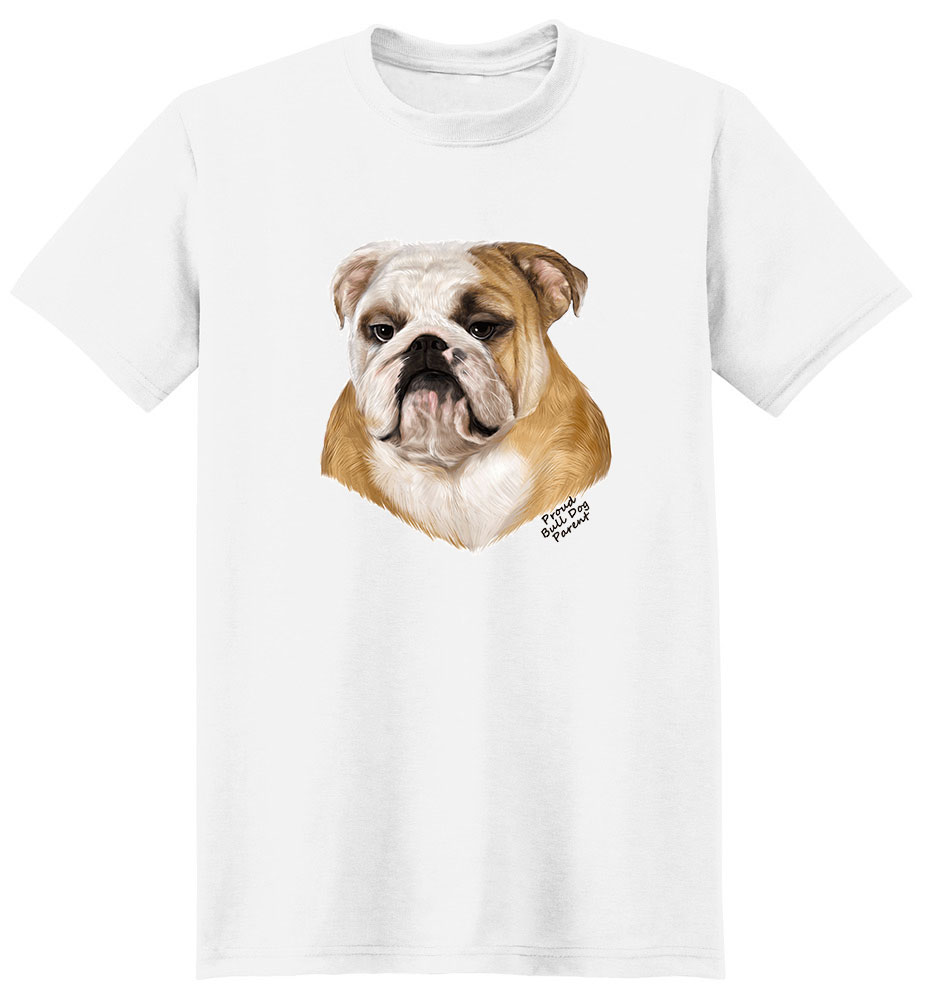 Bulldog T Shirt - Proud Parent