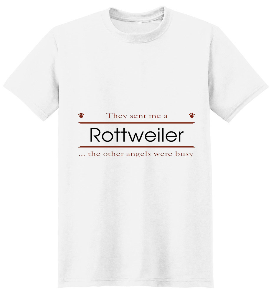 Rottweiler T-Shirt - Other Angels