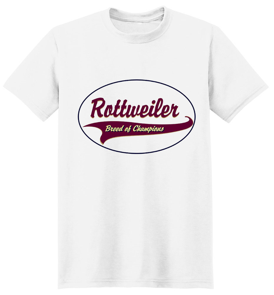 Rottweiler T-Shirt - Breed of Champions