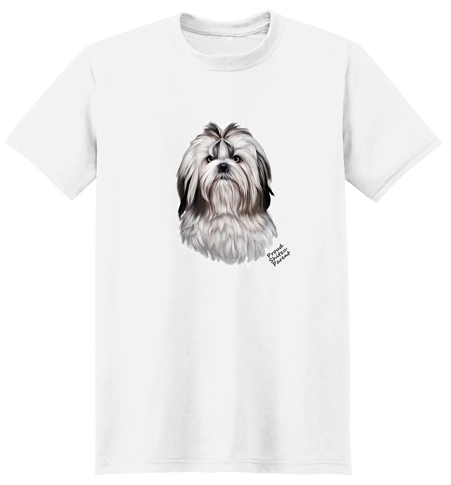 Shih Tzu T Shirt - Proud Parent