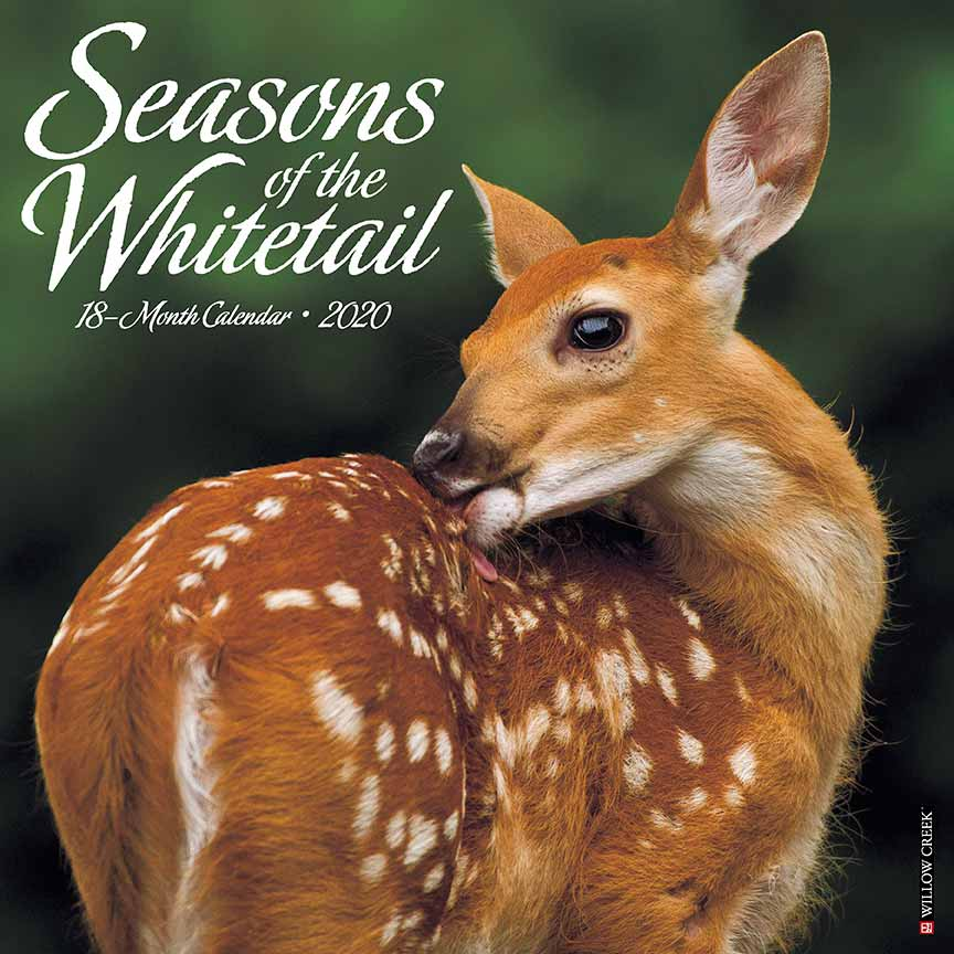 2020 Seasons of the Whitetail Calendar Willow Creek