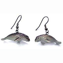 Manatee Earrings True to Life