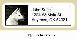 Akita Address Labels