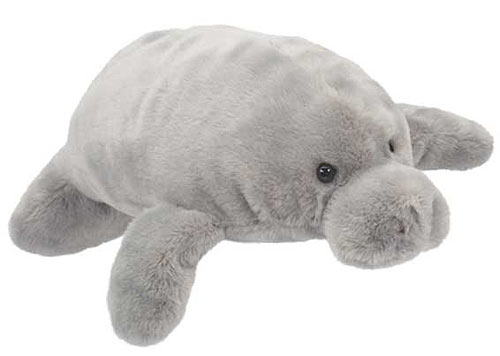 Manatee Plush Stuffed Animal 12 Inch