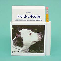American Staffordshire Terrier Hold-a-Note
