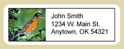 Robin Address Labels