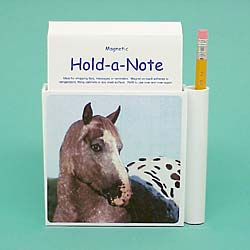 Appaloosa Horse Hold-a-Note