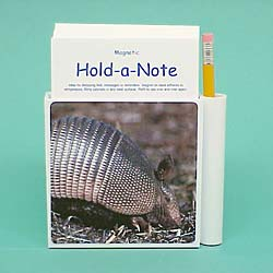 Armadillo Hold-a-Note