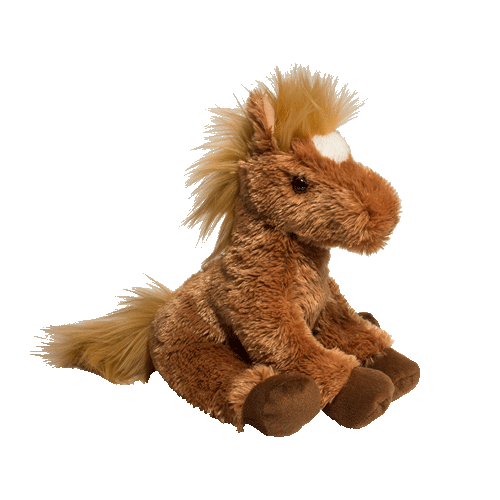 Brown Horse Chestnut 12� Stuffed Plush Animal