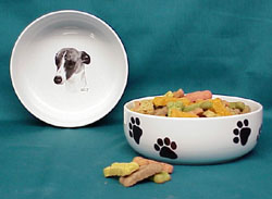 Whippet Dog Bowl