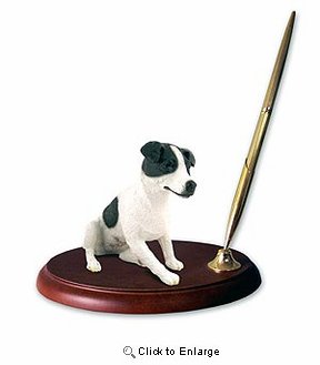 Jack Russell Terrier Pen Holder (Smooth Coat)
