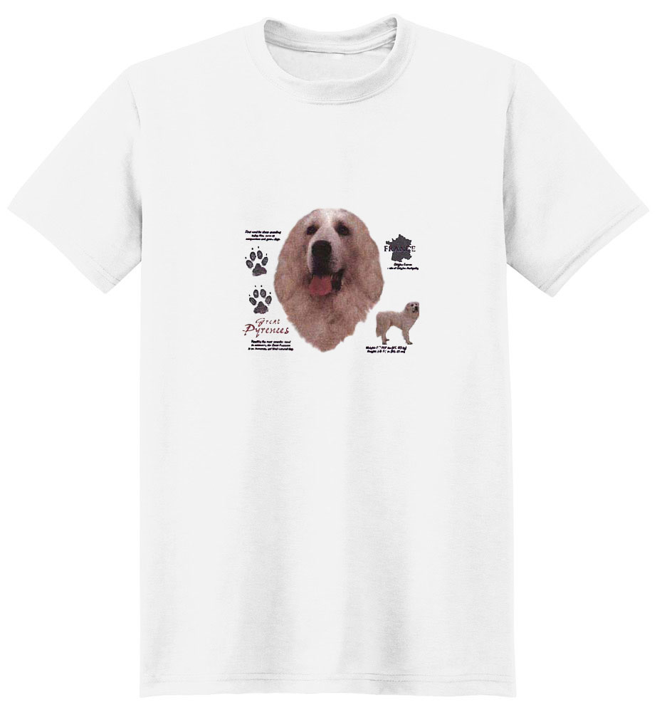 Great Pyrenees T-Shirt - History Collection
