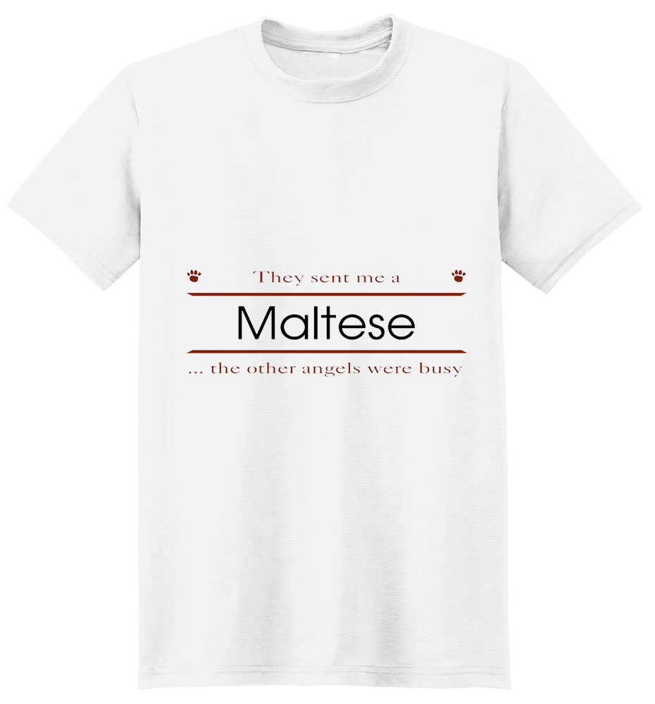 Maltese T-Shirt - Other Angels