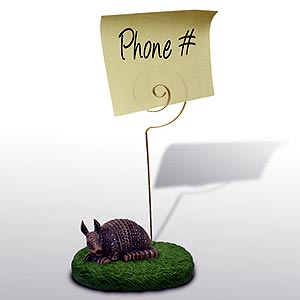 Armadillo Note Holder
