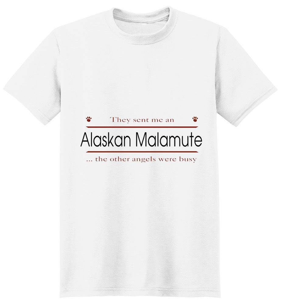 Alaskan Malamute T-Shirt - Other Angels