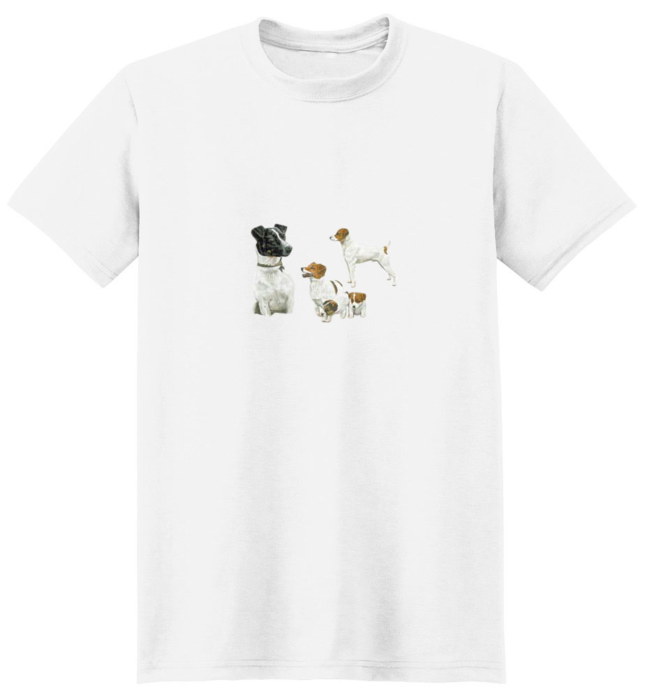 Jack Russell Terrier T-Shirt - In Fun Loving Poses