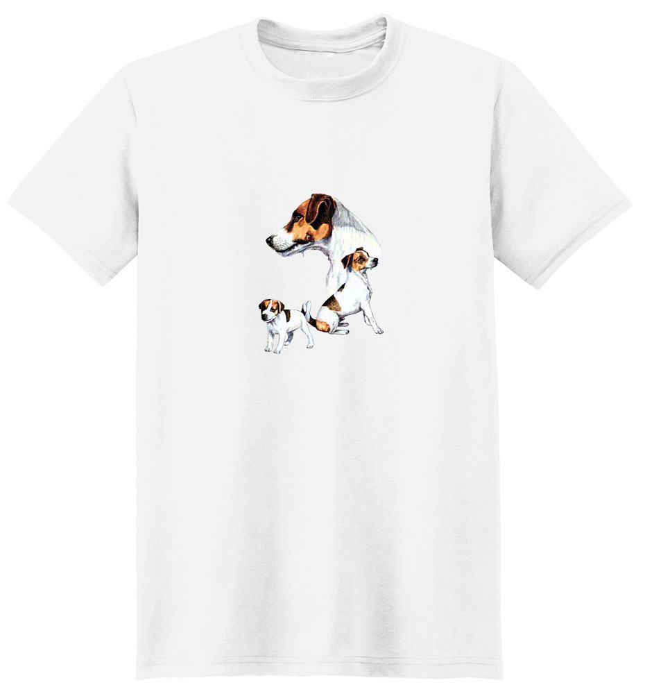 Jack Russell Terrier T-Shirt - Best Friends