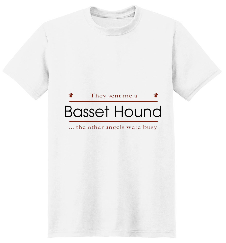 Basset Hound T-Shirt - Other Angels