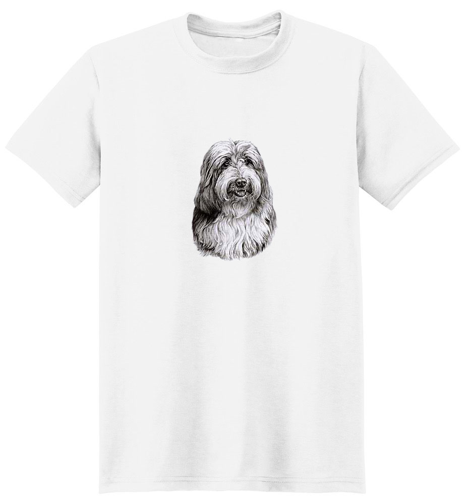 Bearded Collie T-Shirt - Eye Catching Detail