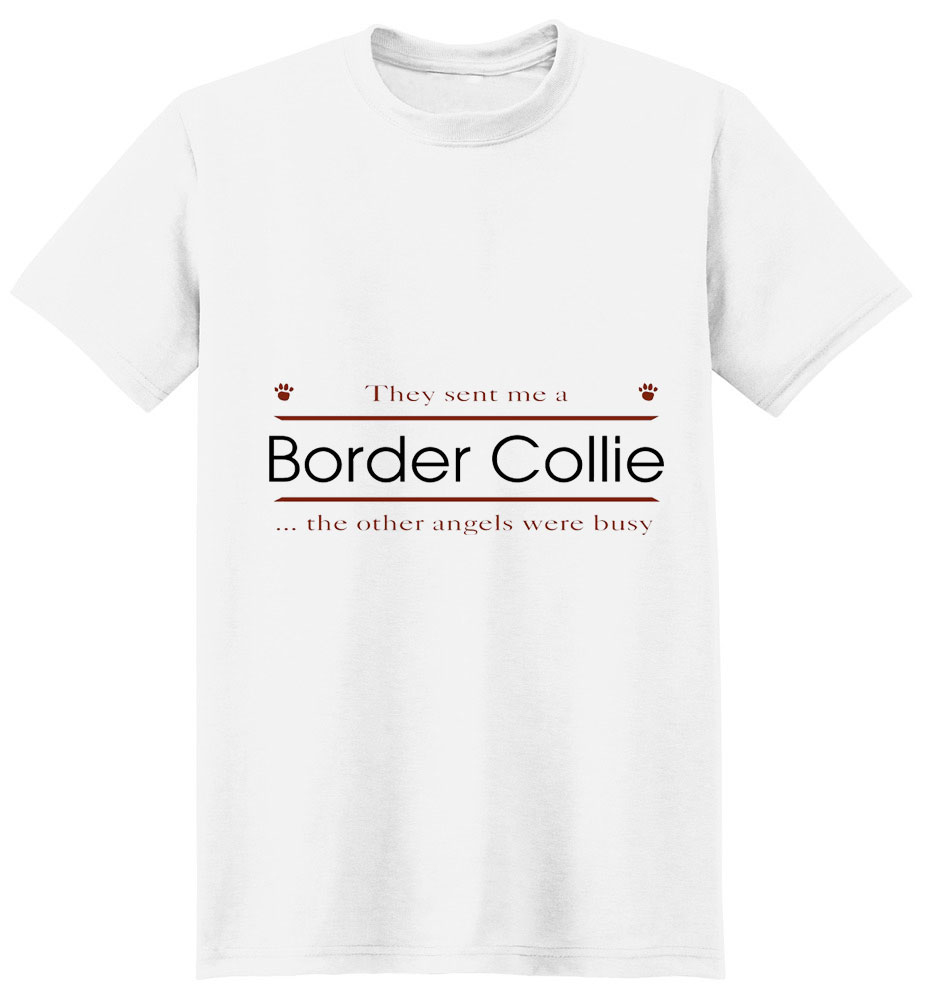 Border Collie T-Shirt - Other Angels