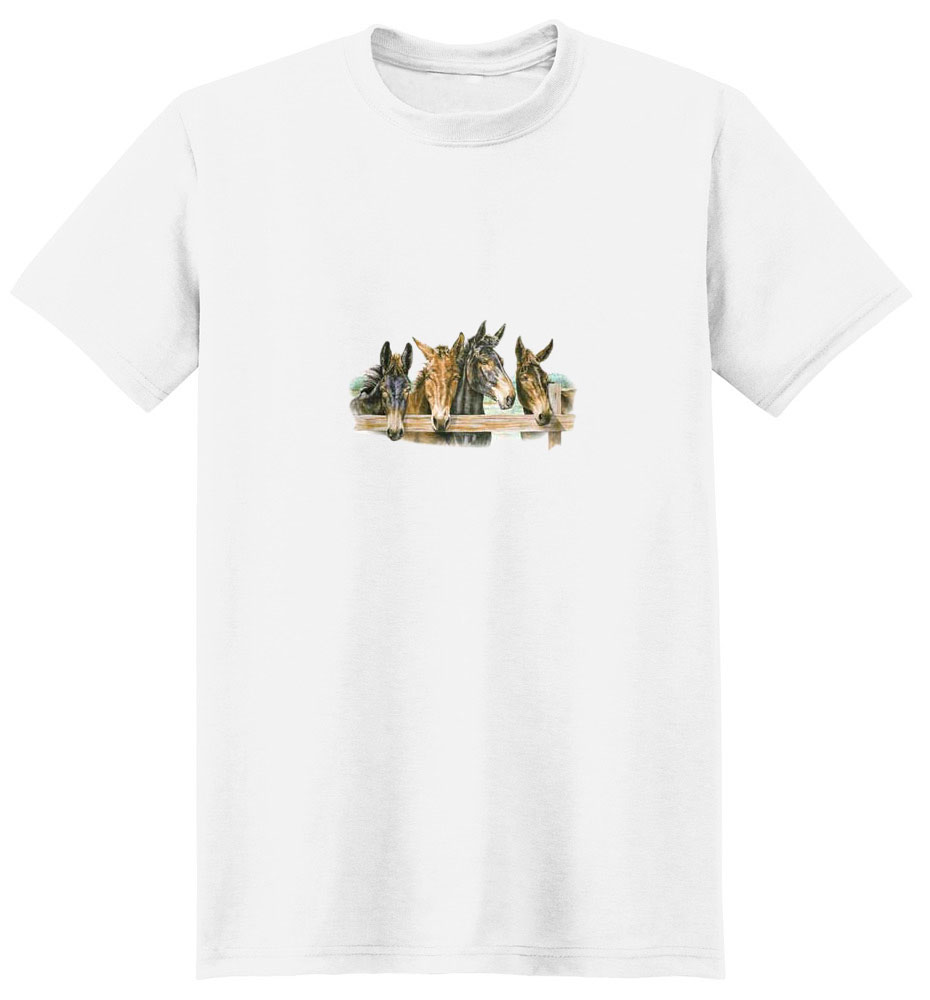 Mule T-Shirt - Perfectly Portrayed