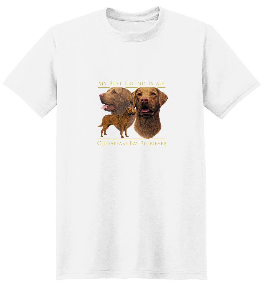Chesapeake Bay Retriever T-Shirt - My Best Friend Is