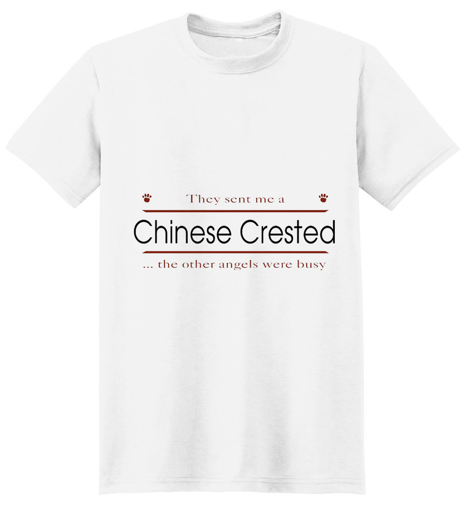 Chinese Crested T-Shirt - Other Angels