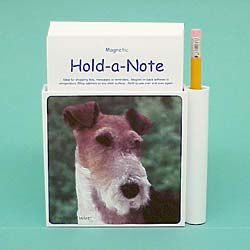 Wire Fox Terrier Hold-a-Note