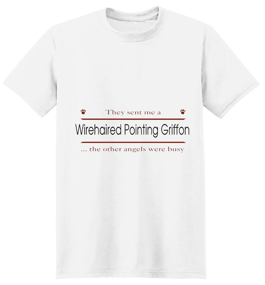 Wirehaired Pointing Griffon T-Shirt - Other Angels