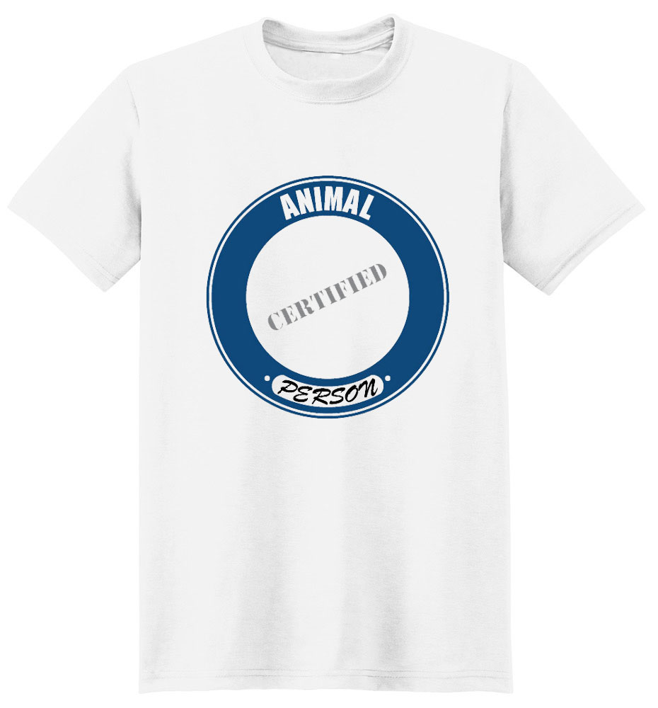 Animal T-Shirt - Certified Person