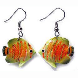 Butterfly Fish Earrings True to Life