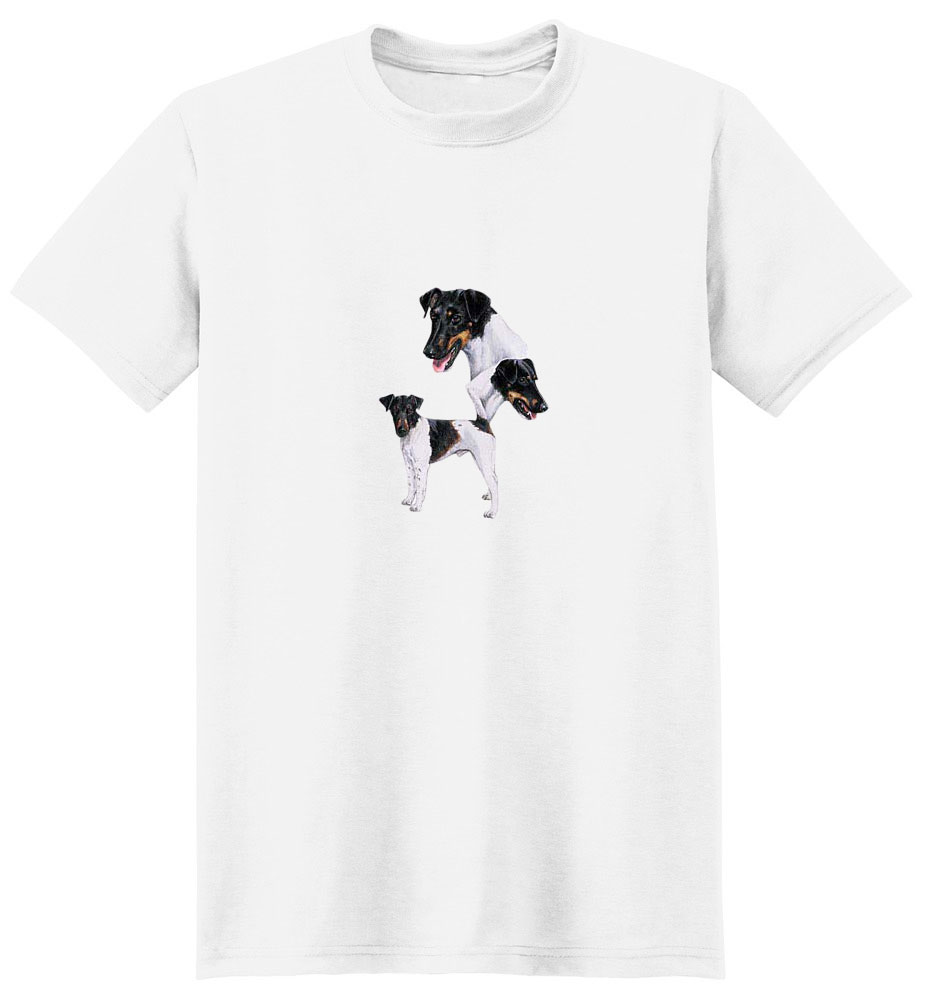 Smooth Fox Terrier T-Shirt - Best Friends