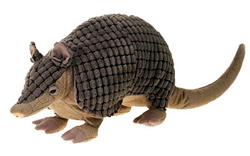 Bean Bag Armadillo Plush Stuffed Animal 12