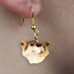 Badger Authentic Earrings