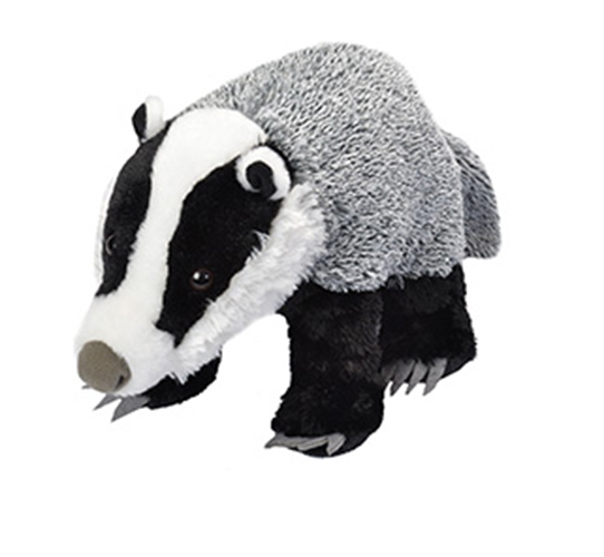 Badger Plush Animal Cuddlekins 14